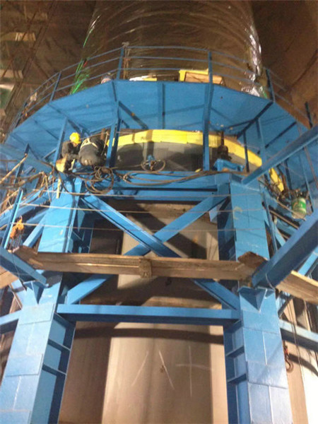 钛钢烟囱制作安装