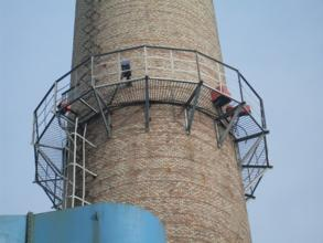 烟囱安装检测平台