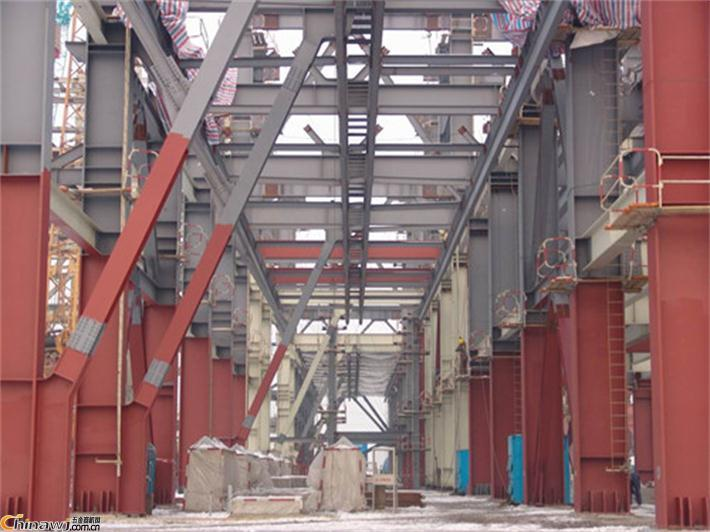 码头钢梁防腐