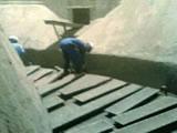 清理水泥库