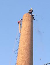 砖烟囱人工拆除