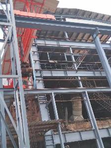 新晃县顺发钛合金有限公司厂区5万平方钢结构防腐
