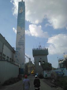 光大环保能源(江阴)有限公司80米方烟囱新建